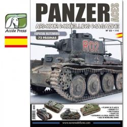 Revista Panzer Aces 52. Marca Acción Press. Ref: PA-ES-0052.