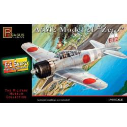 A6M2 Model 21 Zero. Escala 1:48. Marca Pegasus. Ref: PG8409.