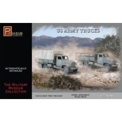 Camión militar USA, WWII. 2 piezas. Escala 1:72. Marca Pegasus. Ref: PG7651.