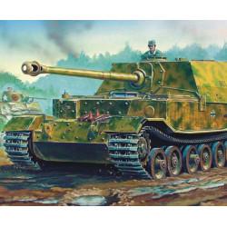 Tanque destructor Elefant (SdKfz 184), alemán 1944. Escala 1:72. Marca Trumpeter. Ref: 07204.