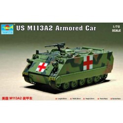 Vehículo Blindado EEUU, M113A2. Escala 1:72. Marca Trumpeter. Ref: 07239.