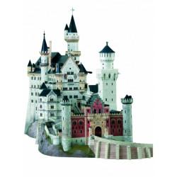 Castillo de Neuschwanstein ( Alemania ). Puzzle 3D de Montaje. Serie de edificios históricos. Marca Clever Paper. Ref: 14157.