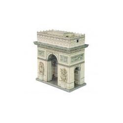 Arco del triunfo ( París ). Puzzle 3D de Montaje. Serie de edificios históricos. Marca Clever Paper. Ref: 14347.