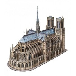 Catedral de Notre Dame ( Paris ). Puzzle 3D de Montaje. Serie de edificios históricos. Marca Clever Paper. Ref: 14387.