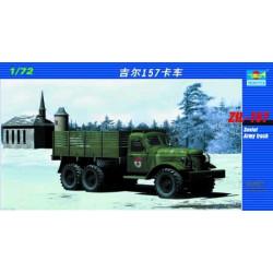 Camión del ejercito soviético Zil-157. Escala 1:72. Marca Trumpeter. Ref: 01101.