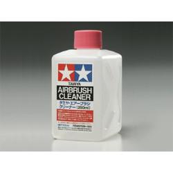 Airbrush Clearner, Liquido Limpiador de Aérografo. Bote 250 ml. Marca Tamiya. Ref: 87089.