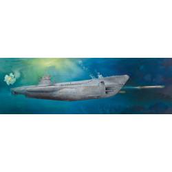 Submarino Type VIIC U-Boat U-552, german. Escala 1:48. Marca: Trumpeter. Ref: 06801.