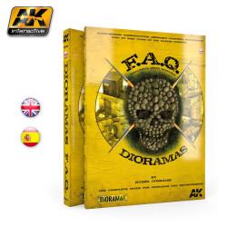 F.A.Q. Dioramas. En Ingles. Marca AK Interactive. Ref: AK8001.