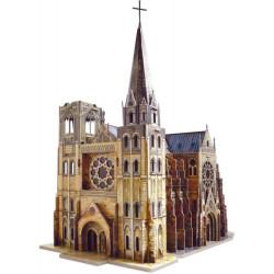 Catedral Gótica. Puzzle 3D de Montaje. Serie Medieval. Marca Clever Paper. Ref: 14255.