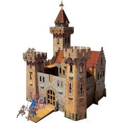 Castillo Medieval. Puzzle 3D de Montaje. Serie Medieval. Marca Clever Paper. Ref: 14207.