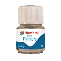 Enamel Thinner ( diluyente para esmalte ). Bote 28 ml. Marca Humbrol. Ref: AC7501.