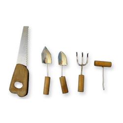 Herramientas de carpintería y jardín. Marca Artesanía Latina. Ref: 13704.