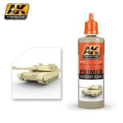 Ak Imprimación, arena del desierto. Bote de 60 ml. Marca AK Interactive. Ref: AK181.