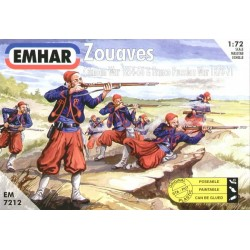 Figuras de Ia guerra de Crimea ( 1854-56 ). Escala 1:72. Marca Emhar. Ref: EM7212.