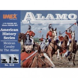 Set Caballería Mexicana en el Álamo. Escala 1:72. Marca Imex. Ref: IM515.