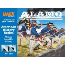 Set Infanteria Mexicana del sombrero redondo. Escala 1:72. Marca Imex. Ref: IM553.