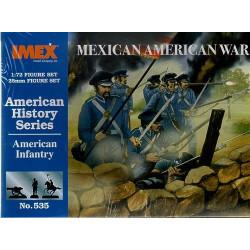Set Infanteria Americana, guerra mexico ( 1840 ). Escala 1:72. Marca Imex. Ref: IM535.