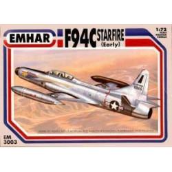 F94C Starfire ( early ). Escala 1:72. Marca Emhar. Ref: EM3003.