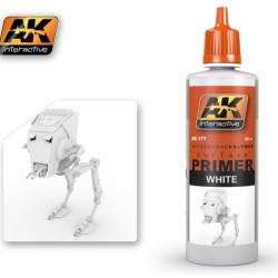 Ak Imprimación, blanco. Bote de 60 ml. Marca AK Interactive. Ref: AK177.