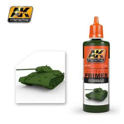 Ak Imprimación, rusa. Bote de 60 ml. Marca AK Interactive. Ref: AK179.
