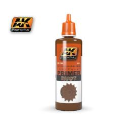 Ak Imprimación, óxido. Bote de 60 ml. Marca AK Interactive. Ref: AK184.