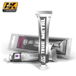True metal, metallic purple ( metálico púrpura ). Marca AK Interactive. Ref: AK452.