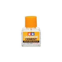 Cement Limonene, Adhesivo de Polistireno. Bote de 40 ml. Marca Tamiya. Ref: 87113.
