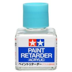 Paint retarder acrylic, retarda el secado. Bote de 40 ml. Marca Tamiya. Ref: 87114.