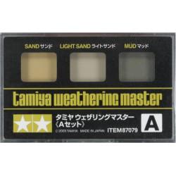 Weathering master A, para vehículos. Marca Tamiya. Ref: 87079.