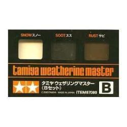 Weathering master B, para vehículos. Marca Tamiya. Ref: 87080.