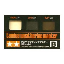 Weathering master, para vehiculos. Marca Tamiya. Ref: 87080.