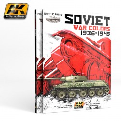 Soviet war colors profile guide. Marca AK Interactive. Ref: AK270.