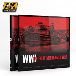 Book WWI The first mechanized war. Marca AK Interactive. Ref: AK273.