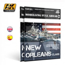 Modelling full ahead 2, New Orleans class. Marca AK Interactive. Ref: AK896.