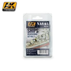 Set  de envejecimiento naval 2. Marca AK Interactive. Ref: AK556.