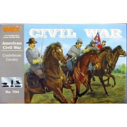 Set Caballeria Confederada, guerra civil Americana. Escala 1:32. Marca Imex. Ref: IM704.