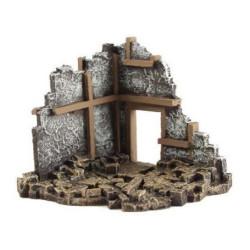 Corner ruins, WWII. Escala 1:72. Marca Conflix. Ref: 6814.