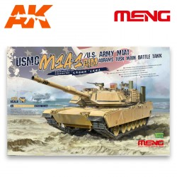 USMC M1A1 AIM/U.S. Army M1A1 Abrams. Escala 1:35. Marca Meng. Ref: TS-032.