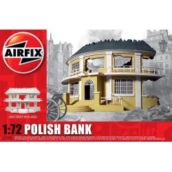 Banco Polaco WWII, en resina. Escala 1:72. Marca Airfix. Ref: A75015.