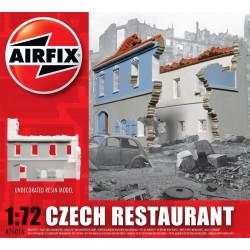 Restaurante checoslovaco, en resina. Escala 1:72. Marca Airfix. Ref: A75016.