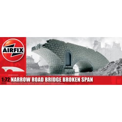 Puente destruido WWII, en resina. Escala 1:72. Marca Airfix. Ref: A75012.