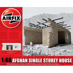 Casa de un piso solo de Afganistan, en resina. Escala 1:48. Marca Airfix. Ref: A75010.