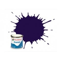 Morado brillo,  purple gloss, ( 68 ). Bote 14 ml. Marca Humbrol. Ref: AA0758.