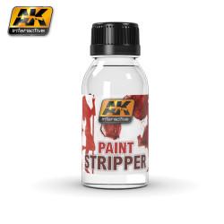 Fluido quitapinturas, Paint stripper. Cantidad 100 ml. Marca AK Interactive. Ref: AK186.