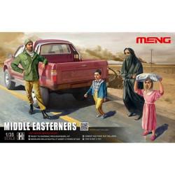 Civiles actuales en Oriente Medio. Escala 1:35. Marca Meng. Ref: HS-001.