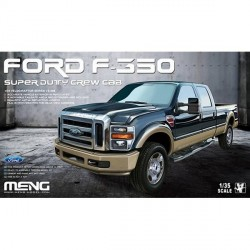 Ranchera Ford F-350 Super Duty Crew Cab. Escala 1:35. Marca Meng. Ref: VS-006.