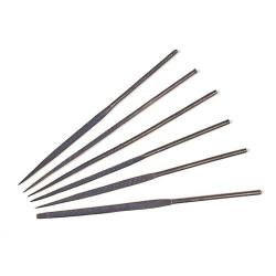 Set de 6 raspadores de aguja, 14 cm longitud. Marca Amati. Ref: 7350.