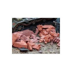 Escombros, rojizos. 200 gr. Escala 1/35. Marca Juweela. Ref: 23315.