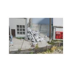 Escombros aluminio. 25 gr. Escala 1/120 y 1/160. Marca Juweela. Ref: 21210.