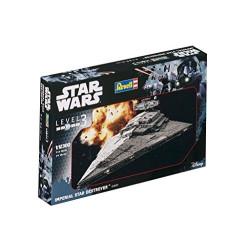 Imperial Star Destrover, Star Wars. Escala 1:12300. Marca revell. Ref: 03609.